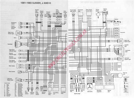 yamaha xj 550 wiring diagram wiring diagrams wiring diagram