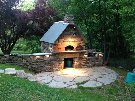 solebury wood burning brick oven and argentinian wood