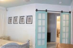 upcycling idea reclaimed doors on rolling door