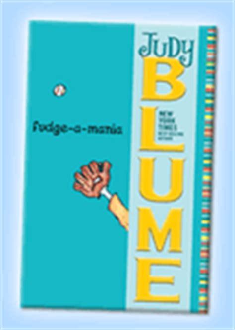 fudge a mania book report judy blume on the web books the fudge books
