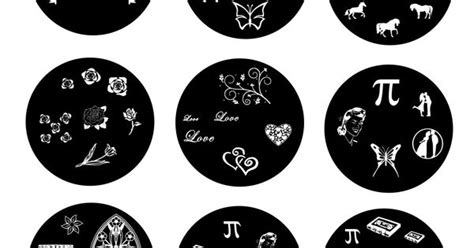 Plate M47 Konad Sting Nail custom nail sting plates design your own personalised nail st plates custom