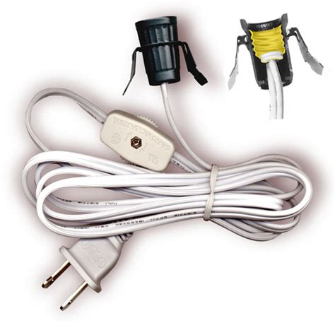 L Socket And Cord Set by L Cord Sets With Base Socket Switch And