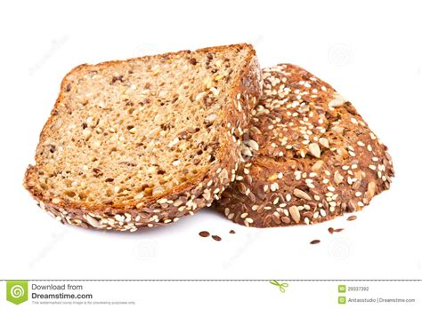 whole grains a z whole grain bread slices stock photography image 29337392