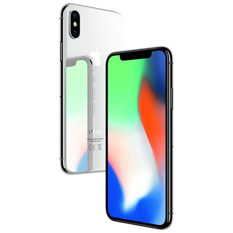 g iphone x telefon mobil apple iphone x 64gb 4g silver emag ro