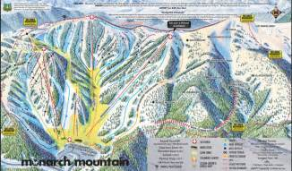 colorado resort map monarch colorado ski country usa