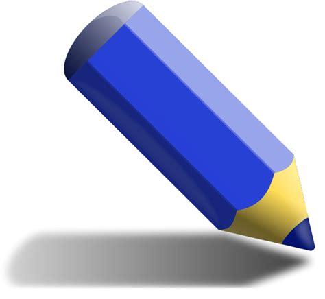 blue clip blue pencil clipart clipart panda free clipart images