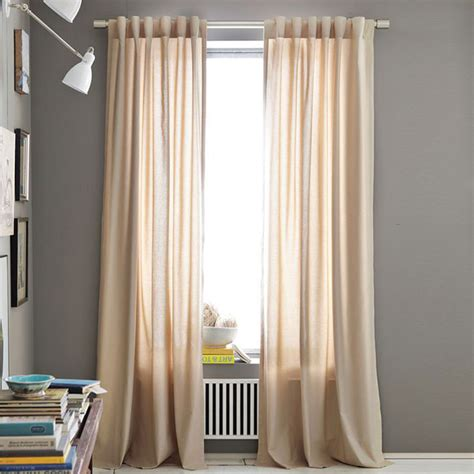 cotton canvas curtains opaque cotton canvas curtains deniz home