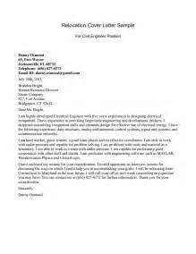 Relocation Cover Letters For Resumes relocation cover letter examples relocation resume cover letter
