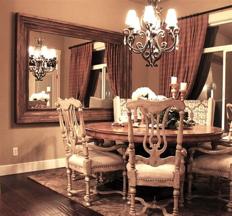 Dining room wall mounted mirror traditional dining room salt lake city by massiv brand