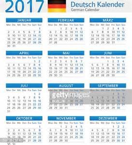 Calendrier Allemand Calendrier Allemand 2017allemand Kalender 2017 Clipart