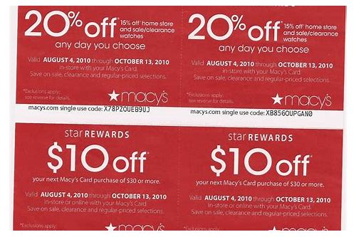 macy's jewelry coupons 2018