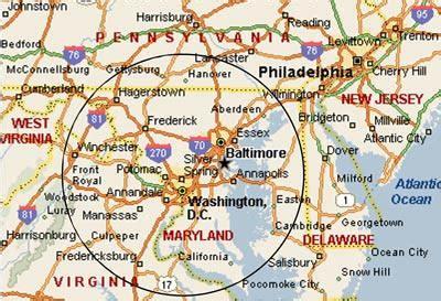 map of dc area map of washington dc maryland and virginia washington dc map