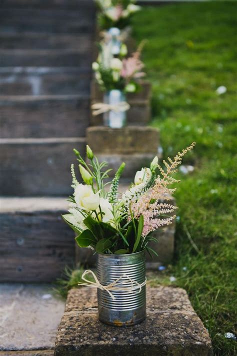 25 best ideas about tin can centerpieces on