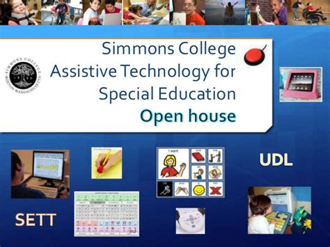 Tech Mba Open House by Simmons College Assistive Technology Program Information 2016