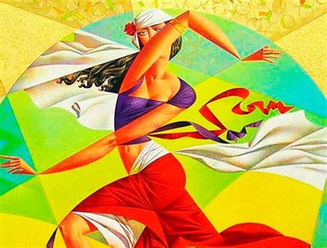 cubismo cuadros georgy kurasov cubismo color y mundo cl 225 sico