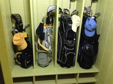 Garage Storage Golf 13 Best Golf Clubs Storage Images On Garage
