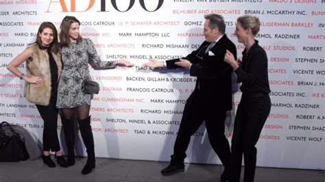 architectural digest celebrates the new ad100 list watch ad100 look inside the ad100 party at new york s