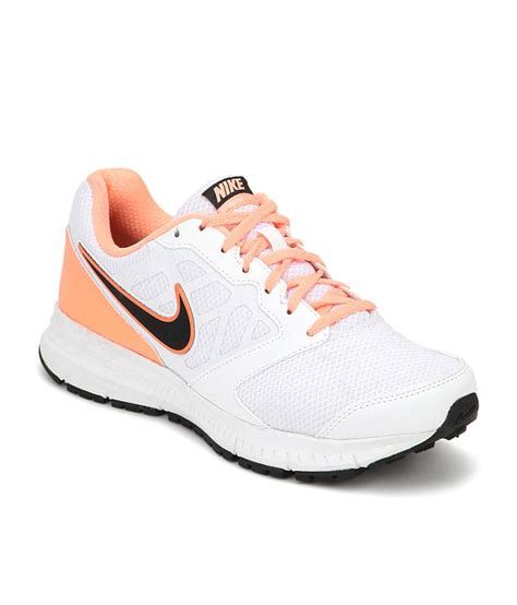 nike white mesh textile sports shoes for price in