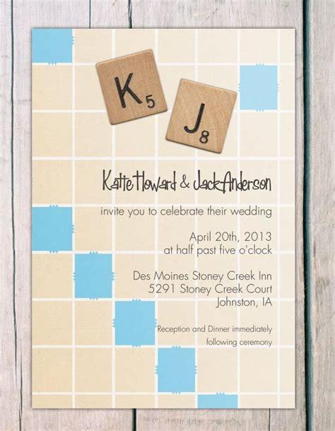 scrabble invitations invitation scrabble