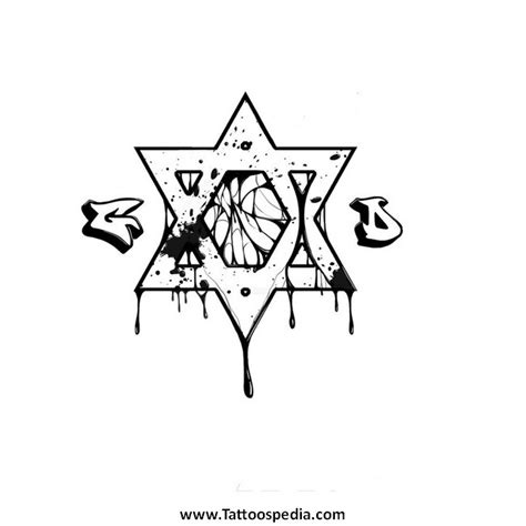 6 point star tattoo designs 6 point designs 5