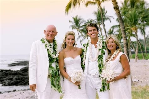 Wedding Attire In Hawaii by All White Destination Wedding In Hawaii Inside