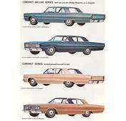Car Brochures  1966 Dodge Brochure / Njpg