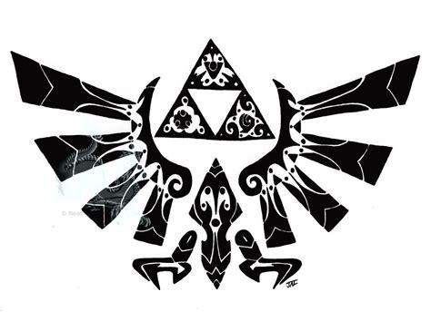 hylian crest tattoo tribal hylian crest by neodragonarts on deviantart