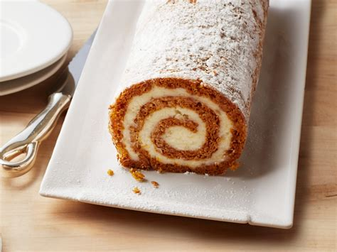 ina garten best desserts pumpkin roulade with ginger buttercream recipe ina