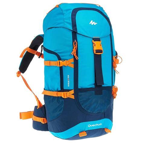 Tas Keril Arpenaz 40l Litre Backpack forclaz 40 hiking backpack 40l blue decathlon