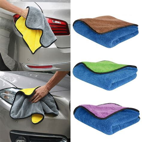 How To Remove Wax From Microfiber by Thick Plush Microfiber Car Cleaning Cloths Car Care Wax