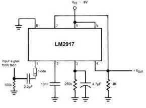 capacitance meter using lm2917 circuit lm2917 frequency to voltage converter