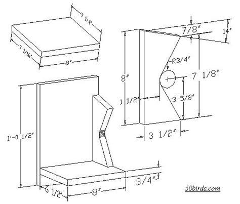 Cardinal Bird House Plans Cardinal Birdhouse Dimensions Myideasbedroom