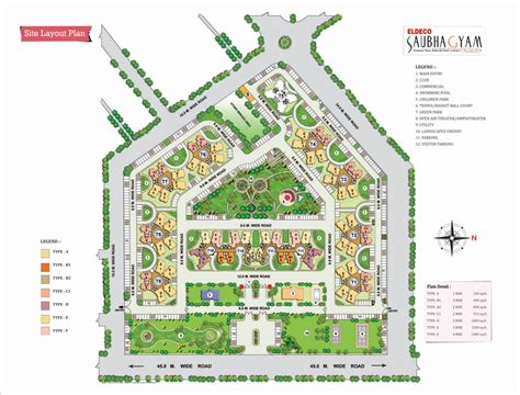layout plan apartments in lucknow for sale real estate bazaar