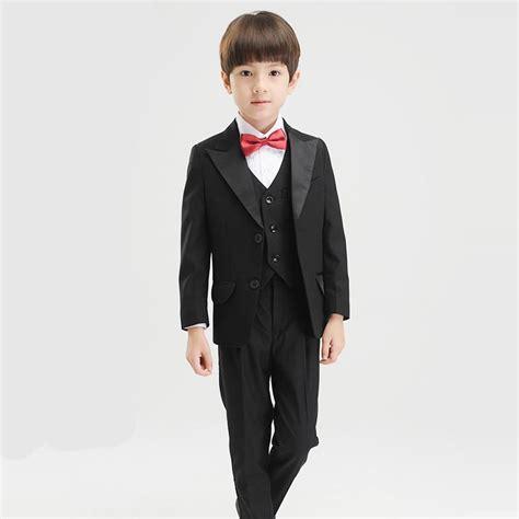 2018 kid suits boys formal wear children wedding suit boy evening suits groom tuxedos evening