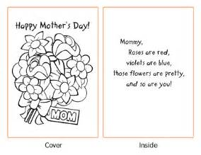 printable mothers day cards to color together we save free s day printable cards