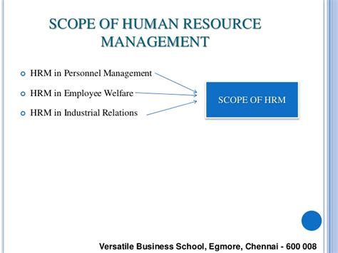 Scope Of Mba In Human Resource Management In Pakistan by Human Resource Management Notes