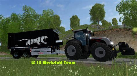 Ls 15 Werkstatt Mod by Ls 15 Fliegl Asw Black Edition V 1 0 Sonderedition