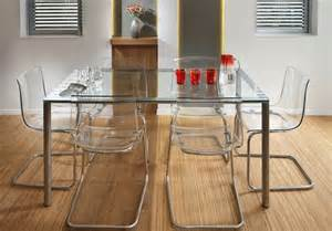 table salle a manger verre cuisine salle manger cuisine salle mangers