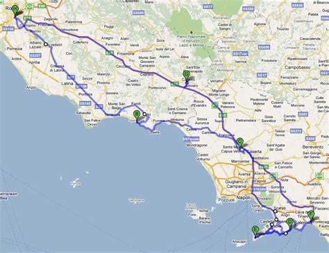 map of amalfi coast amalfi coast map