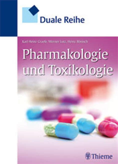 duale reihe innere medizin rezension quot duale reihe pharmakologie und toxikologie