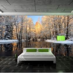 43 enchanting forest wall murals for deep and dreamy home green forest nature landscape wall paper wall print decal