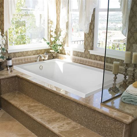 jetted bathtub with shower upgrade your bathroom with whirlpool tub mosaic tile tub