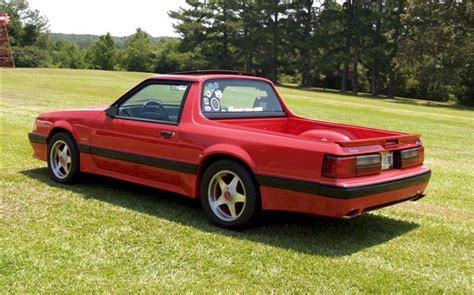 mustang trucks vermilion 1990 ford mustang truck cool photo