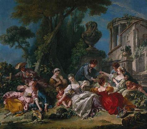 reclining girl boucher francois boucher