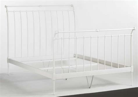 iron sleigh bed frames the land of nod recalls bed frames due to entrapment