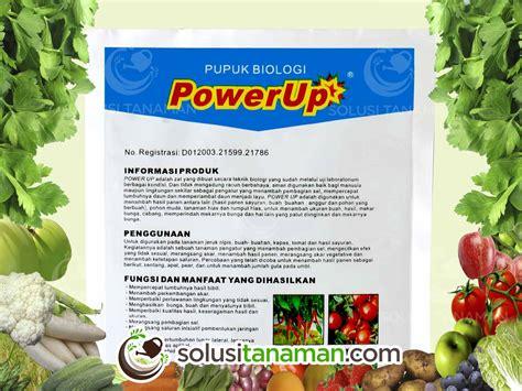 Harga Sariayu Solusi Organik pupuk power up hormon biologi 100gr pupuk organik hidroponik solusi tanaman