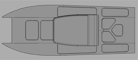 fishing boat hull plans 21ft fishing fast tunnel hull design and build the hull