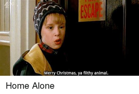 Merry Christmas Ya Filthy Animal Meme - 25 best memes about merry christmas ya filthy animal