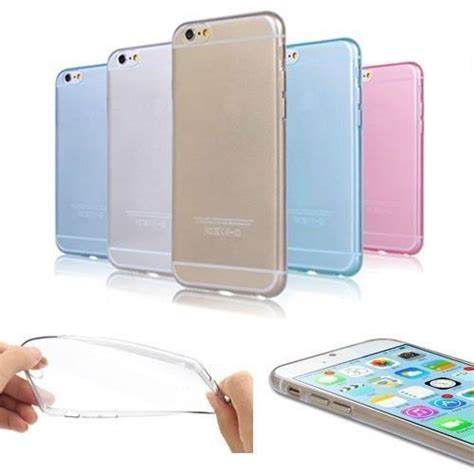 Primary Ultra Thin Silicone Tranparan Iphone 6 Plus Grey details about ultra thin clear rubber tpu silicone soft for iphone 6 plus 5 5