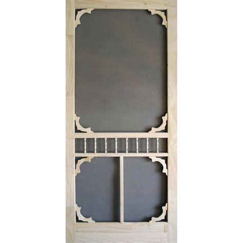 24 Wood Screen Door by Screen Tight Colonial Wood Wood Screen Door